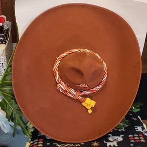 1968 Authentic Mexican Brown w/ Tassles Charro Hat